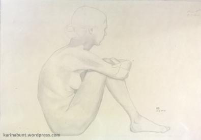 Bleistift auf Papier, 35x50cm