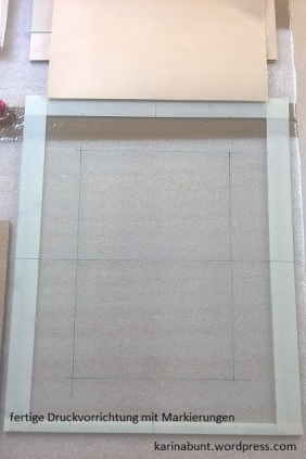Schablonendruck, 30x40cm (2016)