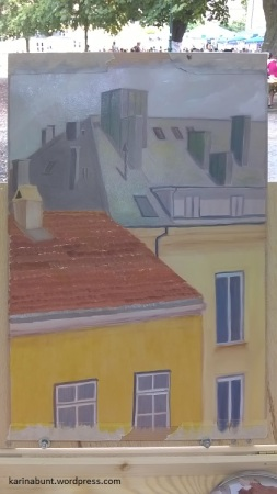 Öl auf Papier, 25x34cm (2016)