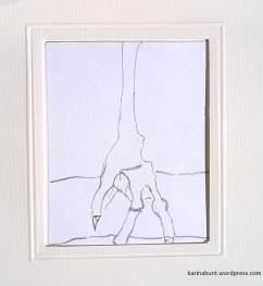 Bleistift auf Papier, 10x10cm