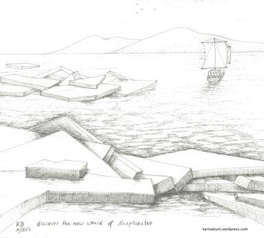 Derwent Line Maker Graphit auf Papier, 25x25cm (2017)