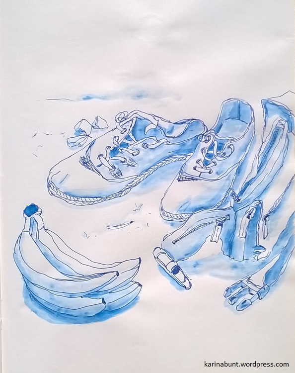 Zeichnung Schuhe