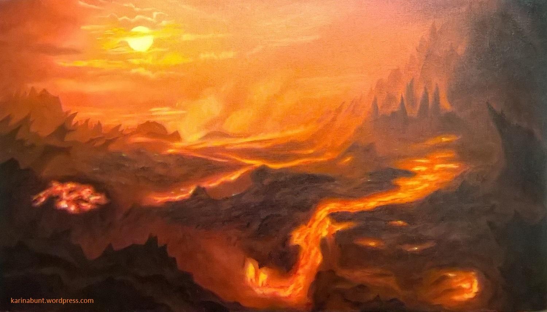 Lava-Landschaft