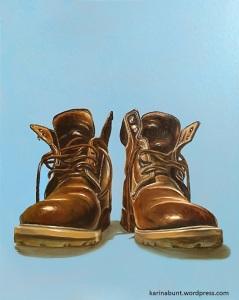 Schuhportrait, ähnlich Wanderschuhen
