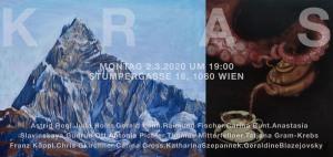 Ausstellungseinladung Galerie Kras