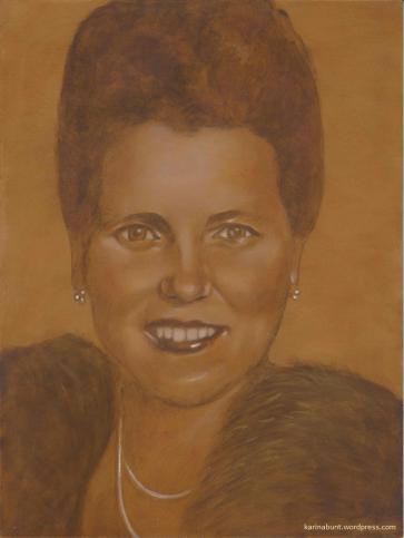 Portrait einer Frau (Barbara)