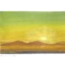 Wüste im Sonnenaufgang