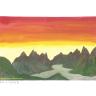 Fjorde im Morgenlicht