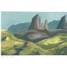 Ähtiopisches Hochland, Hügel und Berge