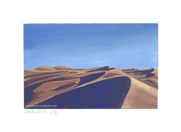 Dünenlandschaft Wüste