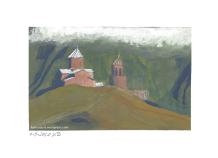 Kloster im Gebirge