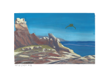Klippen, Meer und Bird of Prey
